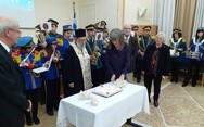 Πάτρα: Mε επιτυχία η κοπή της πίτας του Συλλόγου Χίων Αχαΐας 'Η Αγία Μαρκέλλα' (φωτο)