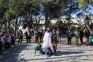Πάτρα - Η Καρναβαλούπολη στήθηκε και γέμισε με χαρούμενες παιδικές φωνές (φωτο)