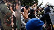 Ταυτοποιήθηκαν 14 μετανάστες για τα επεισόδια στη Μόρια
