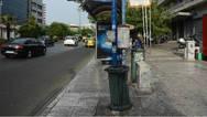 Γλυφάδα - Λεωφορείο έπεσε σε στάση