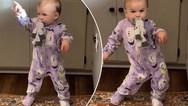 Ο εκπληκτικός χορός ενός μωρού (video)