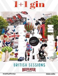 British Session with 1+1 Gin Beefeater στο Συνδετήρα