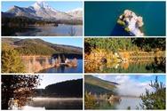 Οι 4 εποχές του χρόνου 'μεταμοφώνουν' τη λίμνη Δόξα (video)