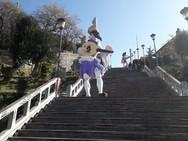 Η παράσταση «Υπηρέτης δύο αφεντάδων» σε διάφορα υπαίθρια σημεία της Πάτρας