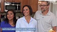 Νοικοκυριό για... τρεις βρήκε μία δημοφιλής τηλεοπτική εκπομπή στις ΗΠΑ (video)