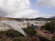 Χανιά: Ανεμοστρόβιλος προκάλεσε καταστροφές στην περιοχή της Κισσάμου