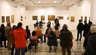 Πάτρα - Με επιτυχία η τελευταία ανοιχτή ξενάγηση στην έκθεση του ζωγράφου Γρ. Παπαθεοδώρου (φωτο)