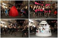 Χορευτικά από τις Rising Flames και το Θέατρο Δρόμου 'R° Cycle' συνέθεσαν ένα πληθωρικό καρναβαλικό Σάββατο! (φωτο)
