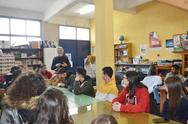 Πάτρα: Επίσκεψη μαθητών του 13ου Γυμνασίου στην «Κίνηση Υπεράσπισης των Δικαιωμάτων Προσφύγων και Μεταναστών» (φωτο)