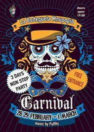 3ήμερο Καρναβαλικό Ξεφάντωμα at La Bodegueta