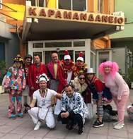 Καρναβαλοεπίσκεψη στο Καραμανδάνειο Νοσοκομείο Παίδων