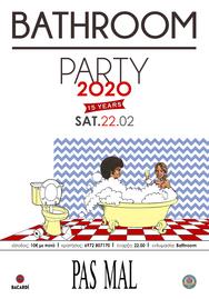 Bathroom party at Pas Mal