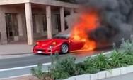 Ferrari F40 αξίας 1,5 εκατ. ευρώ έγινε στάχτη (video)