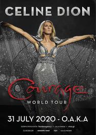 Η Celine Dion στο Ολυμπιακό Στάδιο Αθήνας (ΟΑΚΑ)