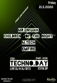 Techno Day Party στη Φοιτητική Εστία Πανεπιστημίου Πατρών
