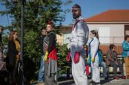 Πάτρα: Το λαϊκό θέατρο δρόμου «R° Cycle» μετέφερε το καρναβαλικό κλίμα σε Κρήνη και Σαραβάλι (φωτο)