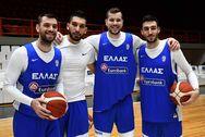 Με 4 παίκτες του Προμηθέα Πατρών η Εθνική Ομάδα Μπάσκετ