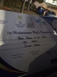 Ασημένιο μετάλλιο για το ΙΕΚ Βέργη, στον 1st Mediterranean Chefs Competition! (φωτο)