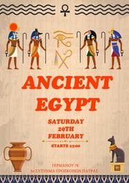 Ancient Egypt Party στο 3ο Σύστημα Προσκόπων Πάτρας