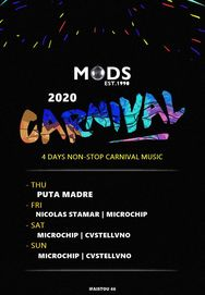 Carnival 2020 at Mods Club