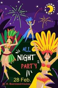 Samba Party στην Ποικίλη Στοά