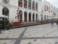 Πάτρα: Άλλαξε όψη η πλατεία Γεωργίου - Μένουν οι μπάστακες και ο φωτισμός