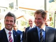 David Beckham για τον Πρίγκιπα Harry: «Είμαι υπερήφανος, είναι καταπληκτικός πατέρας»
