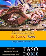 My Carnival Rocks at Paso Doble