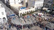 Η καρναβαλική πλατεία Γεωργίου από ψηλά (φωτο+video)