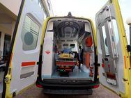 Πάτρα: Ασθενοφόρο του ΕΚΑΒ έκανε ελιγμούς για να παραλάβει τραυματία