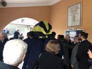 Το τελευταίο αντίο στο Μιχάλη Τροχανά - Κηδεύτηκε με τη σημαία της ΑΕΚ (φωτο)