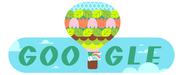 H Google καλωσορίζει την άνοιξη με ένα doodle