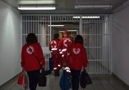 Θερμομετρήσεις σε Καταστήματα Κράτησης από επαγγελματίες και εθελοντές του Ε.Ε.Σ.