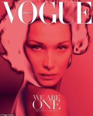 Στην ελληνική Vogue η Bella Hadid (φωτο)