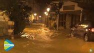 Κακοκαιρία: Πλημμύρες στη Σκιάθο - Χιόνι 30 εκατοστά στην Ευρυτανία (video)