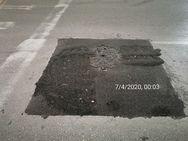 Πάτρα: «Λοφάκια» σε κεντρικούς δρόμους μετά τις εργασίες στο οδικό δίκτυο