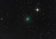 Κερατέα - Φωτογράφισαν έναν πρασινωπό κομήτη