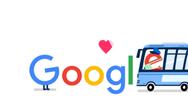 Google Doodle: «Ευχαριστούμε όλους τους εργαζόμενους στα μέσα μαζικής μεταφοράς»