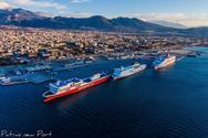 Λιμάνι Πάτρας - Έως 15 Μαΐου η απαγόρευση σύνδεσης με Ιταλία