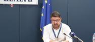 Νίκος Χαρδαλιάς: 'Ευχαριστώ για την υποδειγματική συμπεριφορά'