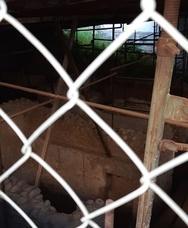 Ο σπάνιος διπλός θολωτός ρωμαϊκός τάφος της οδού Σάμου που παραμένει μη επισκέψιμος
