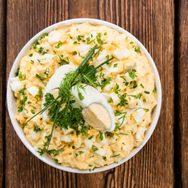 Συνταγή για εύκολη σαλάτα με αβγά
