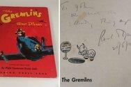 Σε δημοπρασία σπάνιο αντίτυπο του βιβλίου «The Gremlins» του Ρόαλντ Νταλ