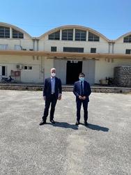 Με τον Γενικό Γραμματέα Αλληλεγγύης, Γιώργο Σταμάτη, συναντήθηκε ο Πρόεδρος του ΚΕΘΕΑ!