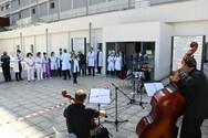 Πάτρα - Μια ξεχωριστή συναυλία στο προαύλιο του νοσοκομείο Άγιος Ανδρέας (pics+video)