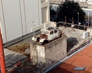 Πάτρα: Η αντίκα που βρίσκεται στη στέγη κτιρίου της Όθωνος Αμαλίας