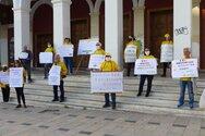 Πάτρα: Διαμαρτυρήθηκαν για το περιβάλλον στη πλατεία Γεωργίου (φωτο)