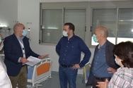 Πάτρα: Ο Νεκτάριος Φαρμάκης επισκέφθηκε το νοσοκομείο του Αγίου Ανδρέα (φωτο)