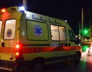 Αχαΐα: Ένας νεκρός και δύο τραυματίες σε τροχαίο στα Τριπόταμα
