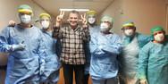 Σωτήρης Γεωργούντζος - Έγραψαν 'Κορονοϊός', έξω από το σπίτι του (video)